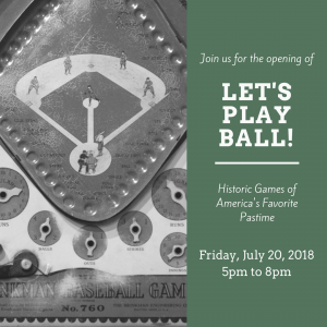 Let's Play Ball! Exhibit Opening @ Field House Museum | St. Louis | Missouri | United States