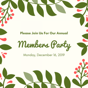 Member's Holiday Party @ Field House Museum | St. Louis | Missouri | United States