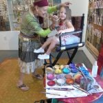 Photo of face painting at Teddy Bear Picnic