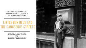 Guest Speaker Event: Little Boy Blue and the Dangerous Streets @ Field House Museum | St. Louis | Missouri | United States