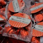 Photo of Hersey kiss party favors