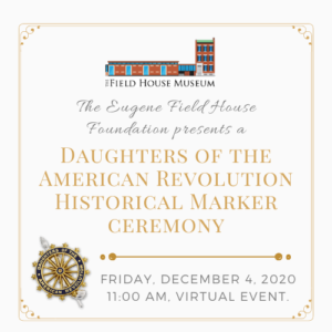 DAR Plaque Ceremony @ Field House Museum | St. Louis | Missouri | United States