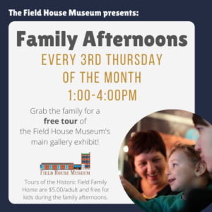 Free Family Afternoon @ Field House Museum | St. Louis | Missouri | United States