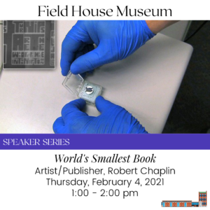 Speaker Series: World's Smallest Book