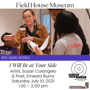 """Speaker Series: """"I Will Be at Your Side"""" with Susan Colangelo @ Field House Museum 