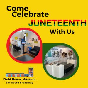 Juneteenth Celebration @ Field House Museum | St. Louis | Missouri | United States