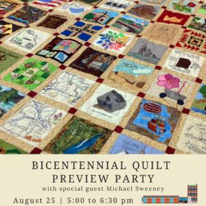 Missouri Bicentennial Quilt Preview Party @ Field House Museum | St. Louis | Missouri | United States